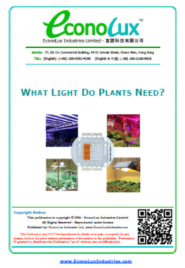 EconoLux - What Light Do Plants Need?